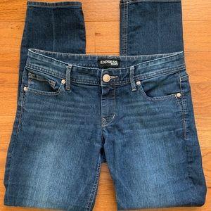 Express Stella Skinny cropped jeans - sz 4R